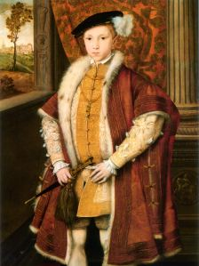 Edward VI--meaning there had already been six other kings with his name by the 1500s.